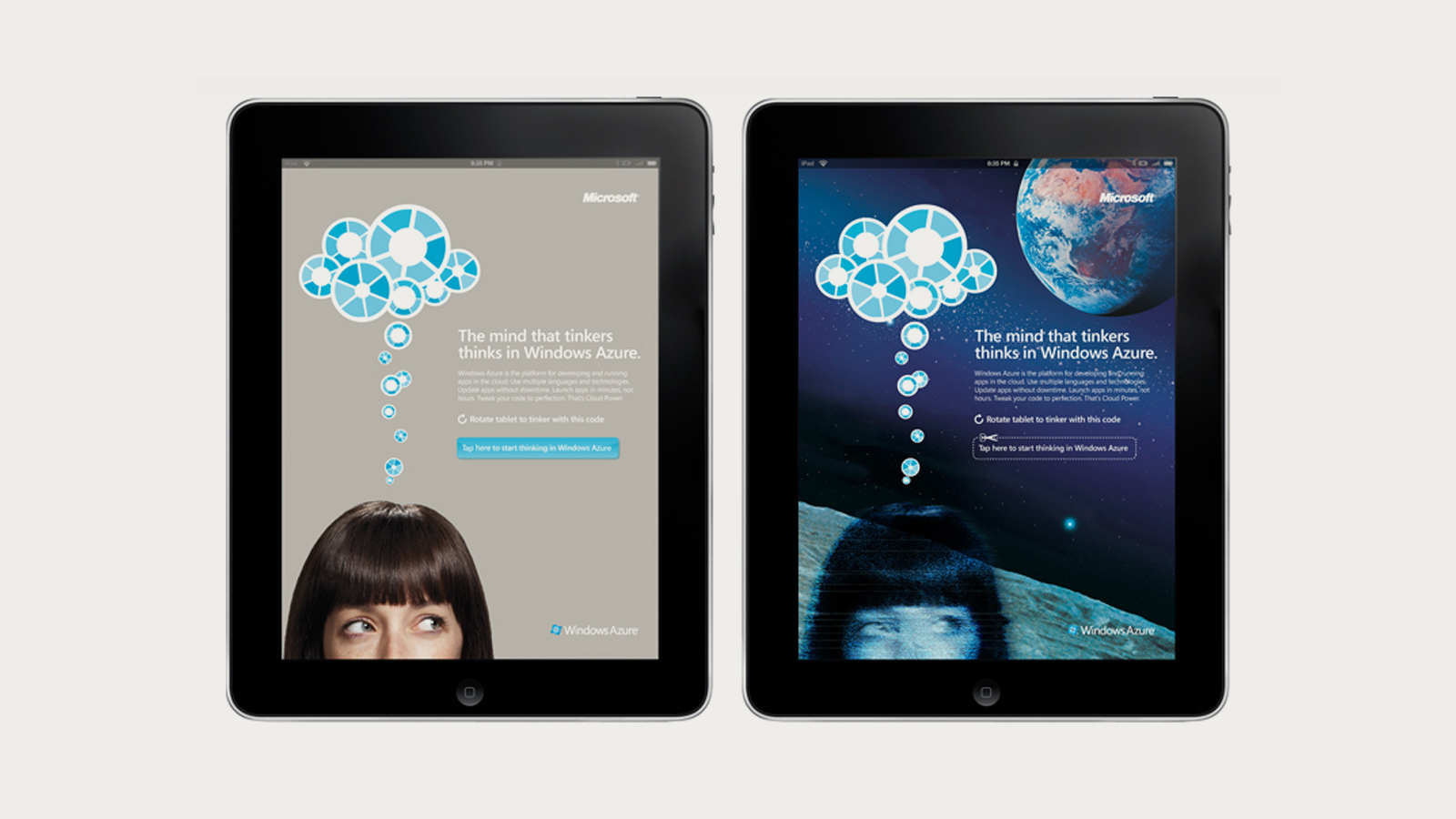 Microsoft Azure: Interactive ad for WIRED magazine